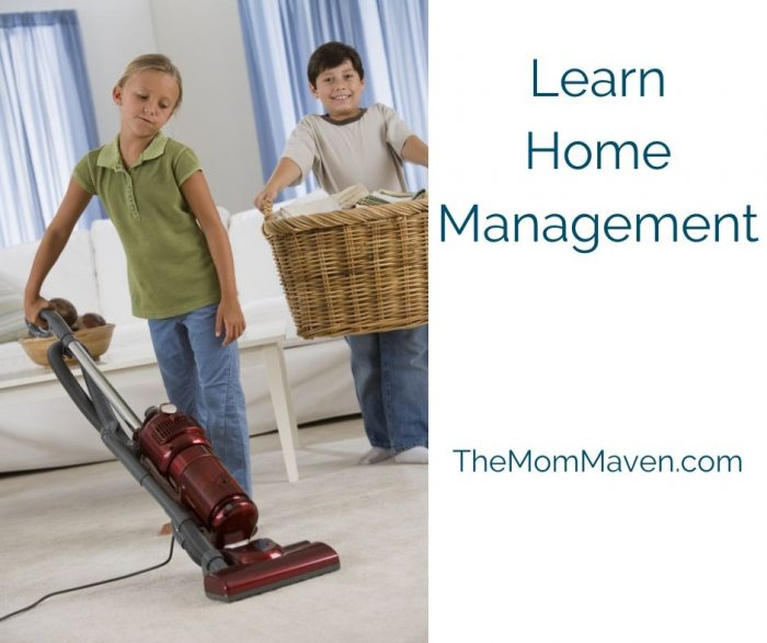 Things to Do When Your Kids are Stuck at Home-Learn home management