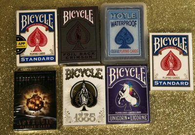 Bicycle cards are a great way to overcome boredom. They have even created a How to Play app to help you learn a new game or review the rules of a game you haven't played in a while.
