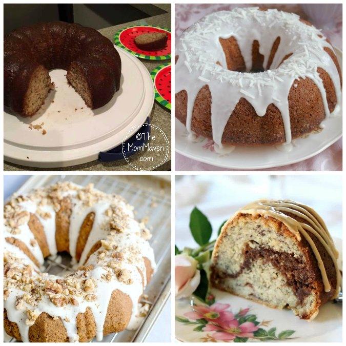 I hope you enjoy these 22 fruit bundt cake recipes. I love bananas!