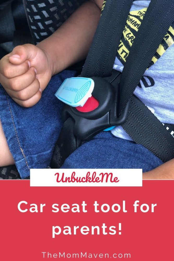 UnbuckleMe is an ingenious and affordable tool to help everyone who struggles with unbuckling car seats for young children.