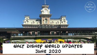 walt disney world updates
