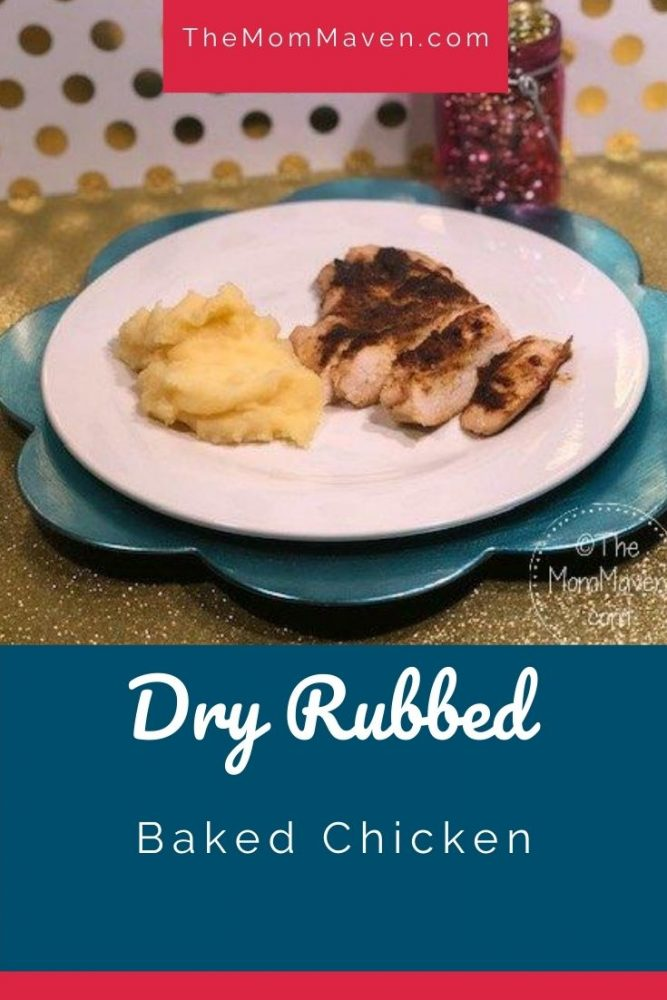 Easy Dry Rubbed Baked Chicken recipe
