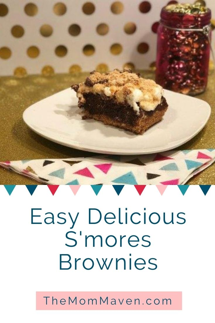 Easy and delicious, this S'mores Brownies recipe brings the flavors of an evening around the campfire indoors for year round enjoyment.