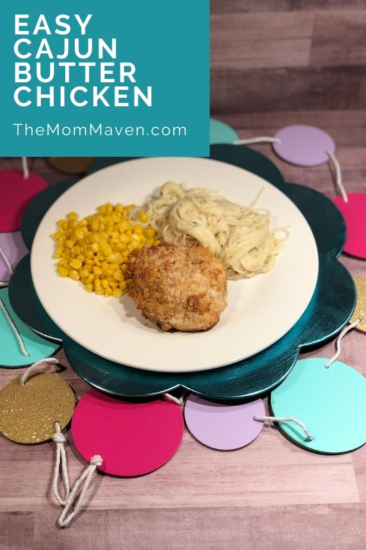 Like a little kick in your meal? This easy Cajun Butter Chicken recipe may be just what you are looking for.