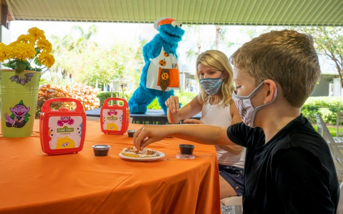 Halloween fun returns to SeaWorld Orlando this fall with  Halloween Spooktacular. Cookie Decorating