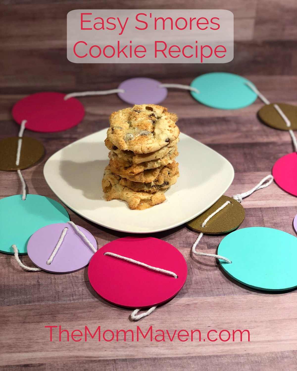 This easy S'mores Cookies Recipe starts with a cake mix base. Everyone loves these cookies and the kids will have fun helping make them.