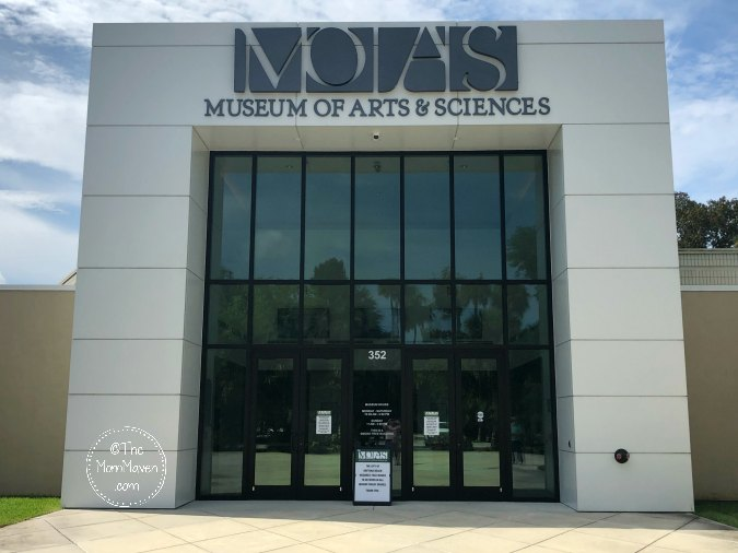 The Museum of Arts and Sciences (MOAS) is Central Florida's premiere museum of art, science, and history. It is located on a 90 acre nature preserve in Daytona Beach.