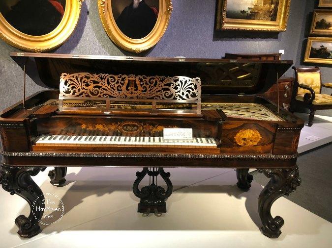 Museum of Arts and Sciences Daytona Beach piano