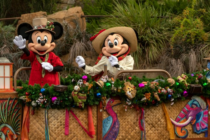 Mickey and Minnie at Disney's Animal Kingdom