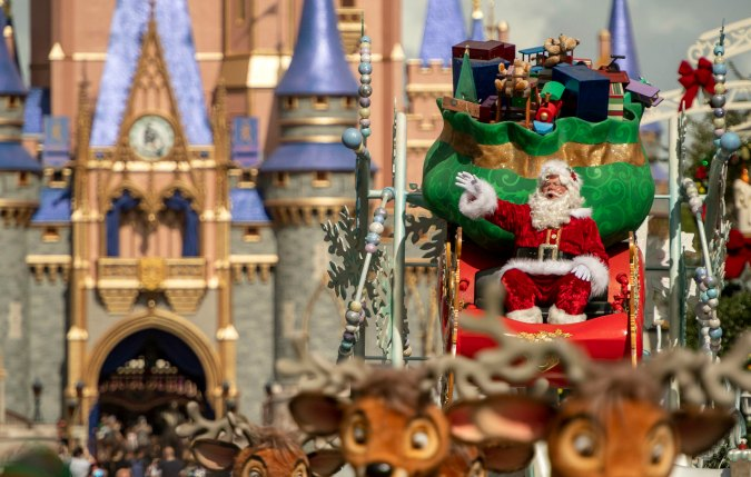 Guests will enjoy seasonal music, decorations and food as they partake in the 2020 Holiday Fun at Walt Disney World!