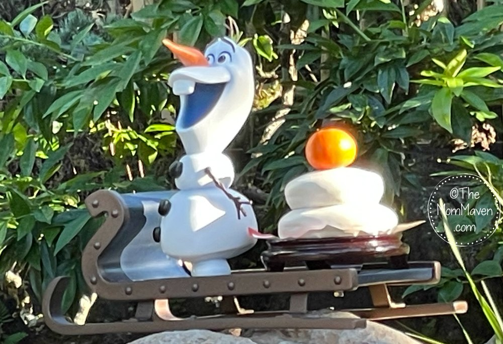 We had so much fun at EPCOT doing Olaf's Holiday Tradition Expedition that I had to tell you about it!