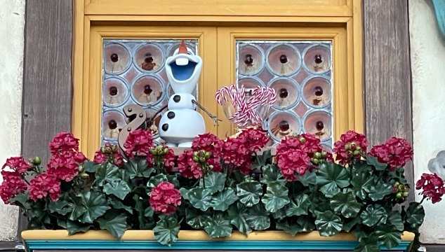 We had so much fun at EPCOT doing Olaf's Holiday Tradition Expedition that I had to tell you about it! Who doesn't love a scavenger hunt?