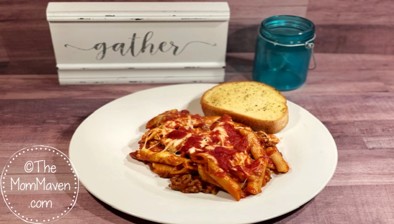 Aunt Lynette's Mostaccioli recipe is the definition of comfort food for our family. I usually make it on a cold winter's night.
