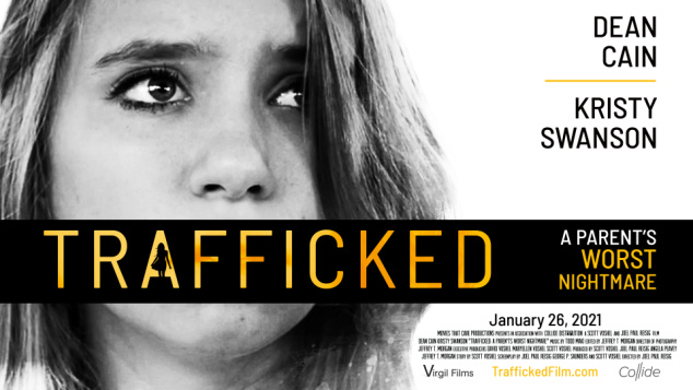 TRAFFICKED is based on actual stories of American families who have had their lives uprooted after a child has been abducted and trafficked.