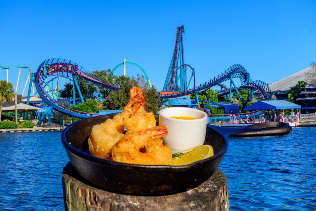 This year at the SeaWorld Seven Seas Food Festival, Orlando's largest theme park food festival, foodies and families alike can discover the widest variety of chef- and mixologist-curated tastes inspired by cultures from across the Seven Seas.