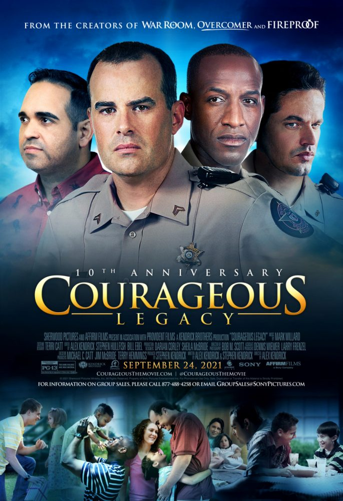 I am giving away a pair of Fandango codes so that you can go see COURAGEOUS LEGACY in theaters! The giveaway is open to US residents only. The giveaway ends at 11:59pm on Saturday 9-25-21. Please follow all rules listed in the giveaway.