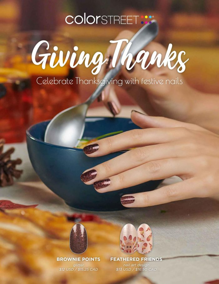 Color Street Giving Thanks nail collection